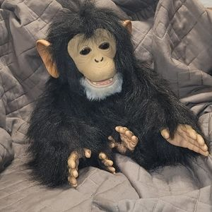 FurReal Friends Cuddle Chimp(w/out banana bottle)